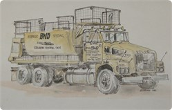 Turf Melbourne | One of the BWD Groups Trucks