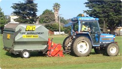 Dethatching, Turf Scarifing, Turf Sweeping, Golf Course dethatching, oval dethatching